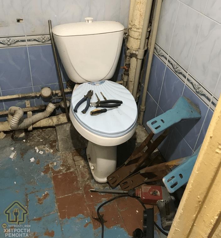 22-летний парень сделал ремонт ванной комнаты в подарок маме