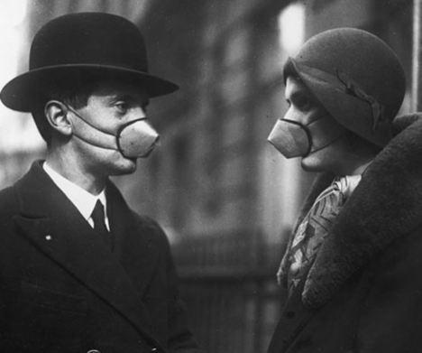 Антигрипповые маски, 1920-е. было, история, фото