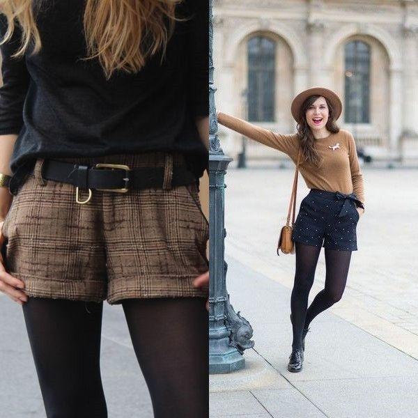 17 способов носить шорты в холодное время года, фото № 10