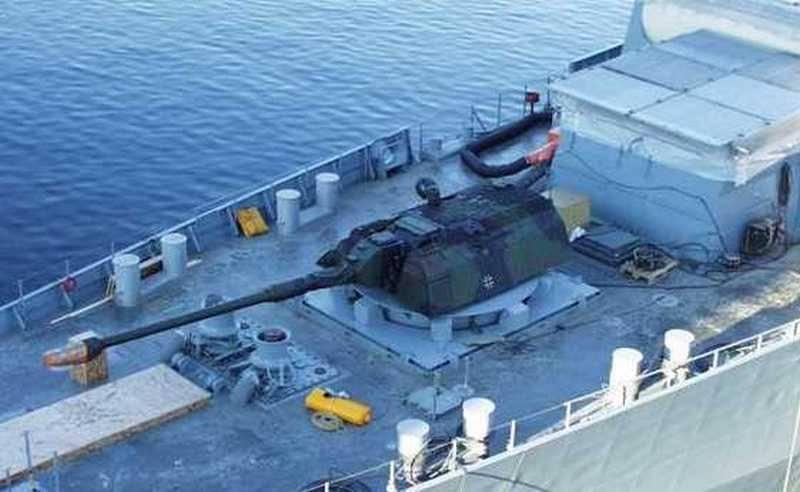 Наступить на немецкие «грабли»: наземные пушки для российских кораблей оружие