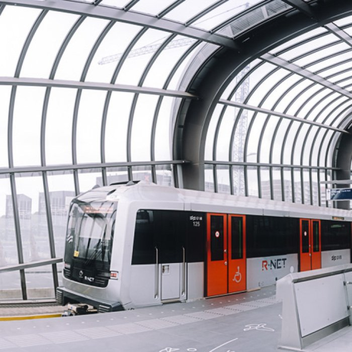 Абсолютно новая линия метро Север-Юг Амстердама