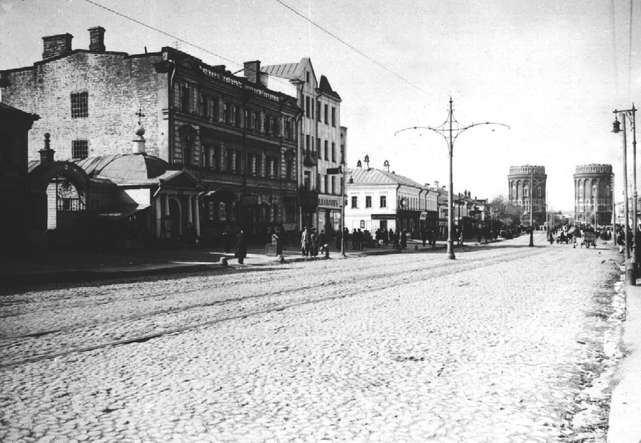 старые фото улиц москвы фото