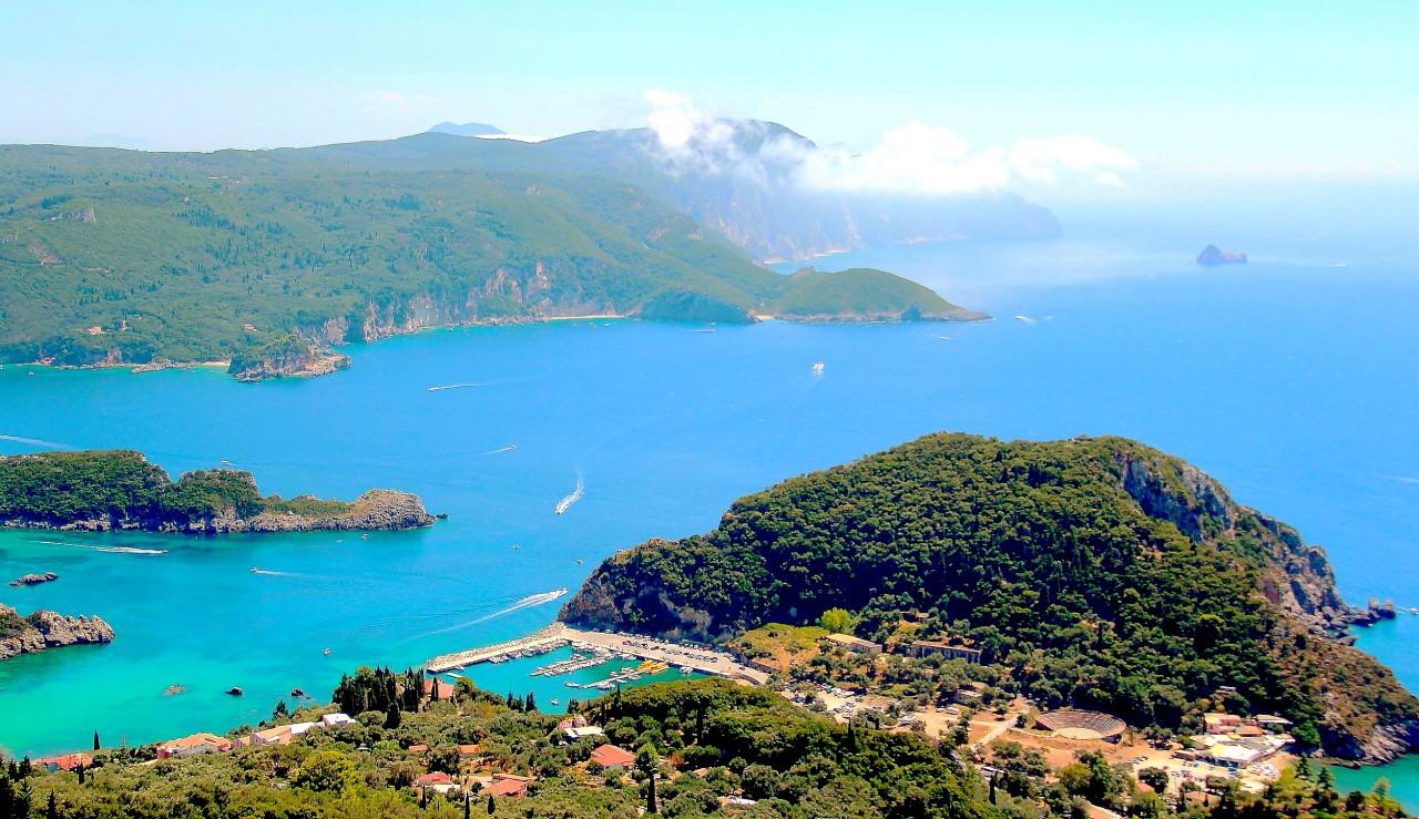 Палеокастрица... побережье Корфу