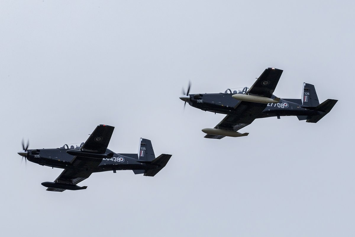 ВВС Великобритании получили первые учебно-тренировочные самолеты Т-6С Texan II