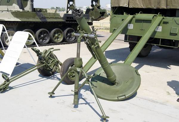 Войска ЮВО получили модернизированные минометы «Сани»