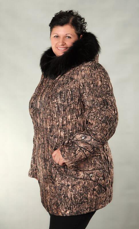 fd937efc8ba Модели пуховиков для полных женщин — 20 модных фасонов