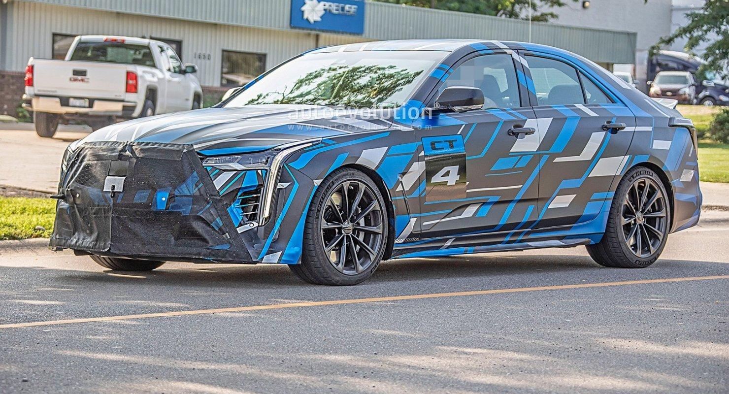 Cadillac сделает сюрприз для владельцев мощных Blackwing Автомобили