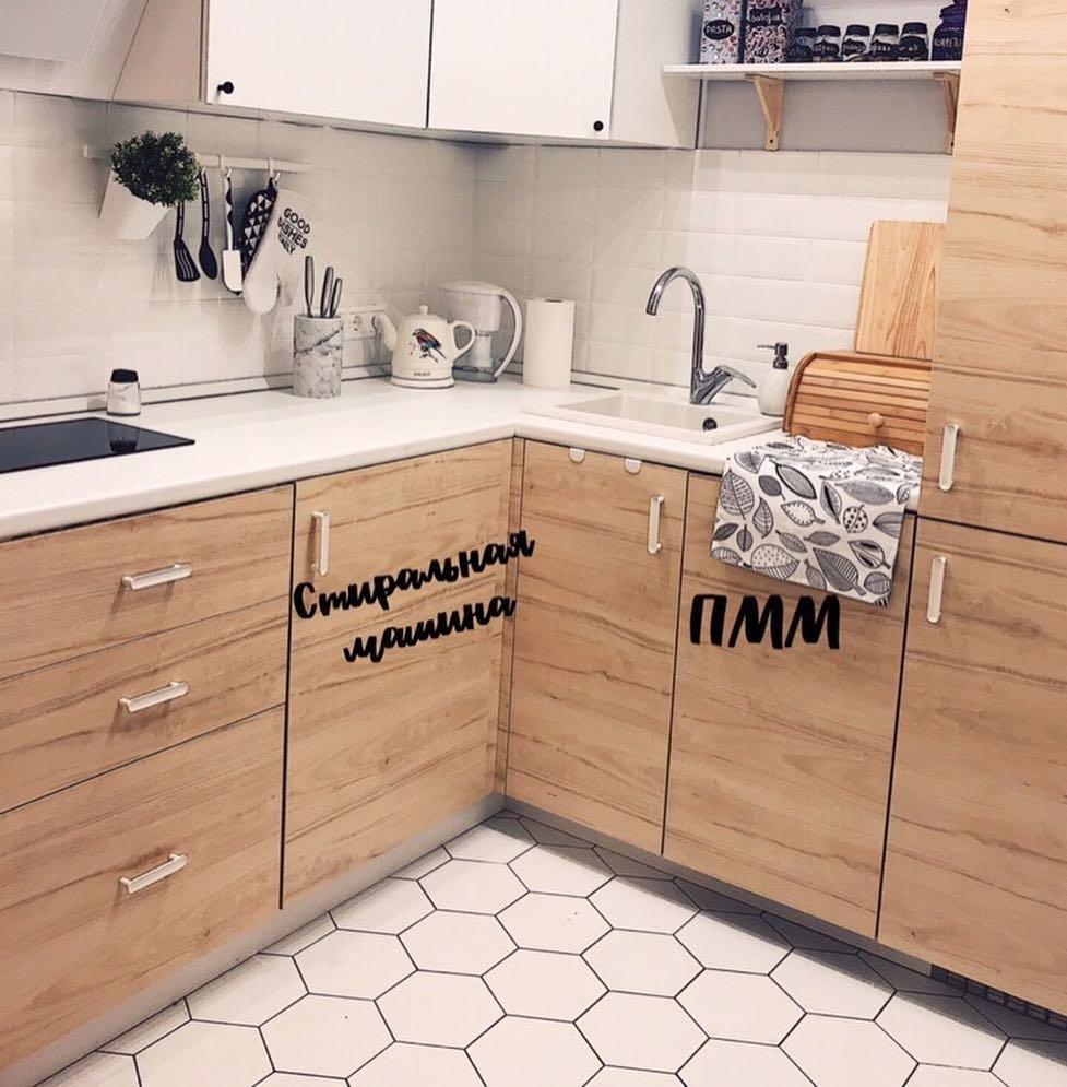 Кухня 5 квадратов? Не беда! Впихнется все! идеи для дома,интерьер и дизайн