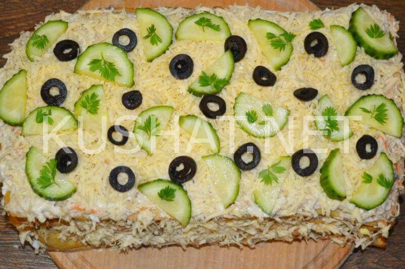 24_закусочный торт Наполеон с консервами