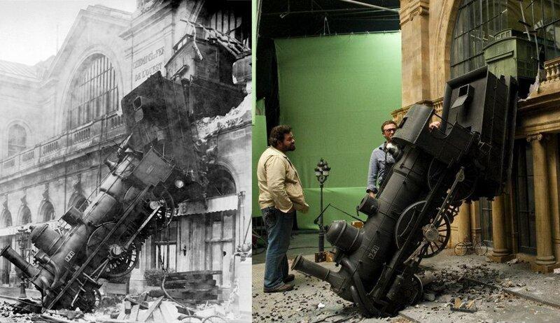 Модель поезда из фильма «Хранитель времени» интересно, кино, киносъемки