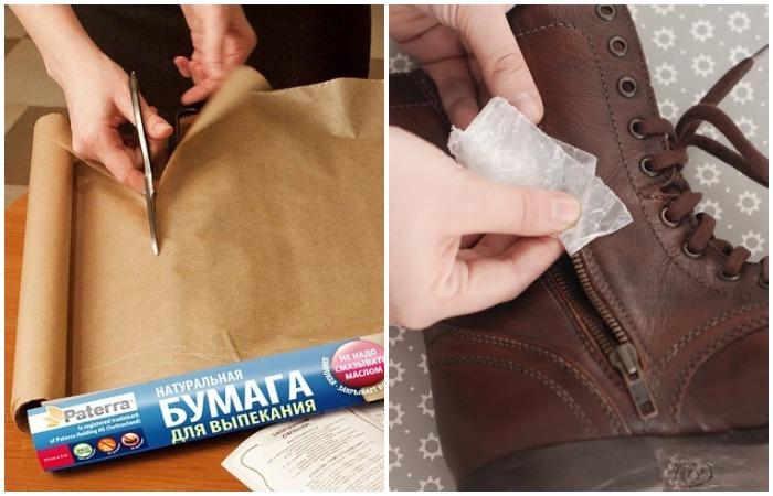Как остановить протечку в трубах и смазать молнию, или 10 вариантов применения пергаментной бумаги