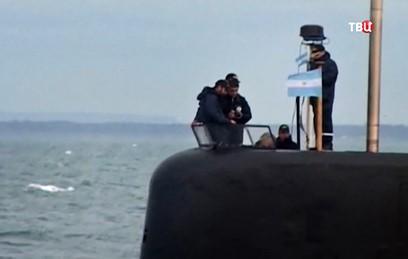 Военные Аргентины получили сигналы с пропавшей подводной лодки