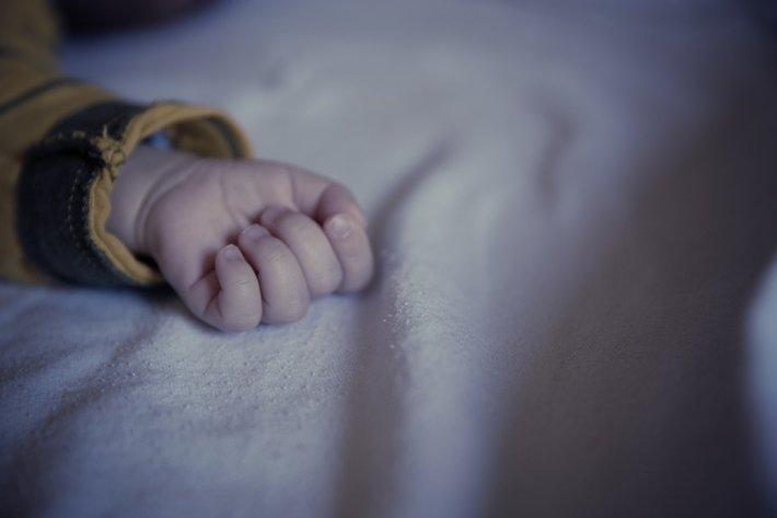 Гроб с телом младенца нашли …