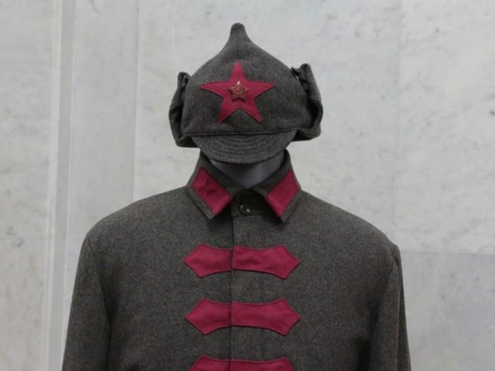 Форма для бойцов Красной армии.