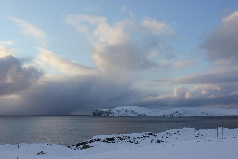 1021. Рыбалка в Норвегии, о. Сероя