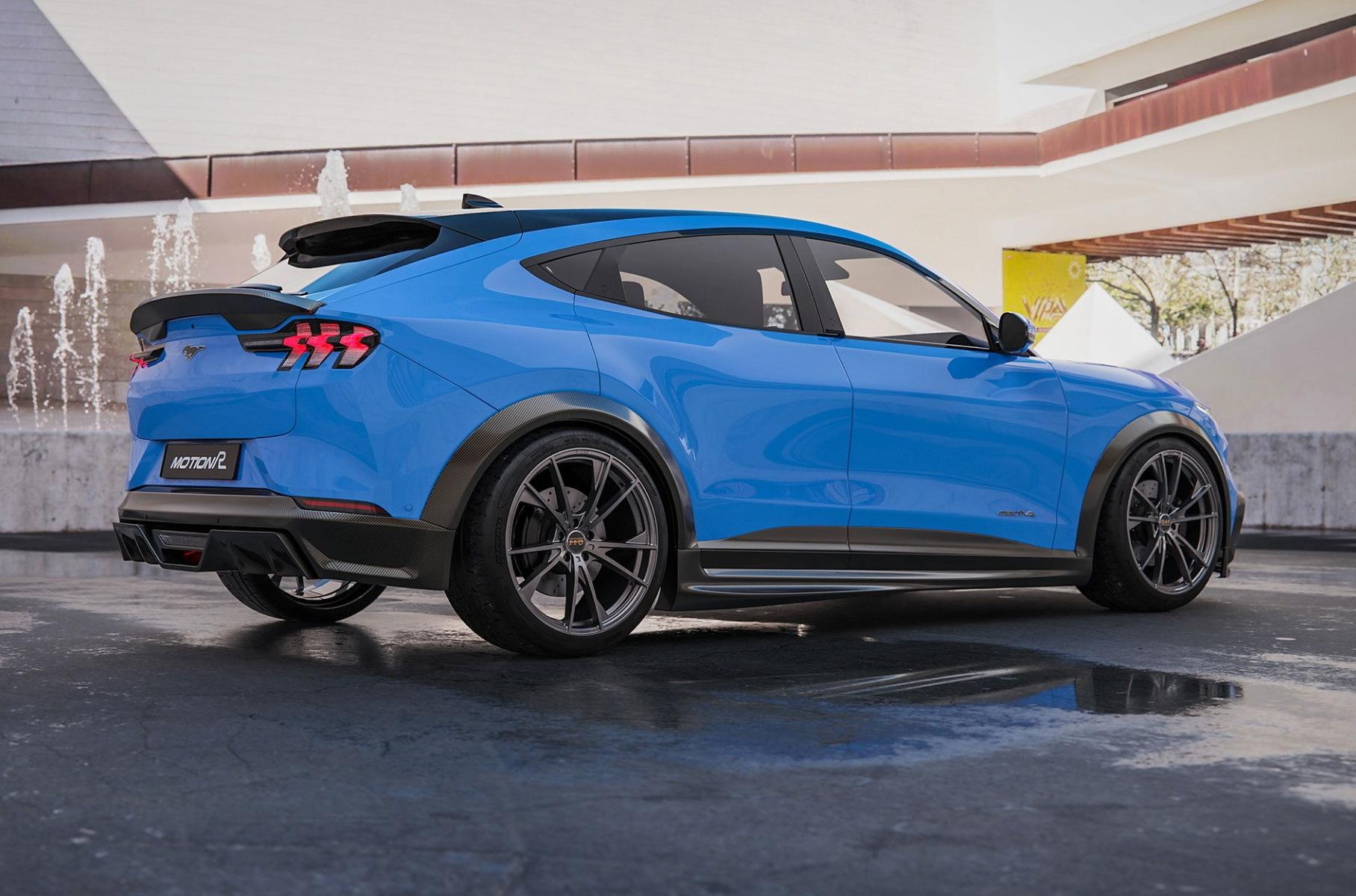 Для электрокара Ford Mustang Mach-E разработали первый тюнинг-кит Новости