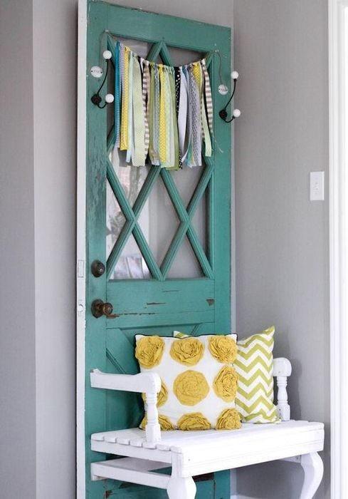 Покрасить и декорировать дверь можно под разные нужды двери, полезные советы, своими руками, сделай сам, фото
