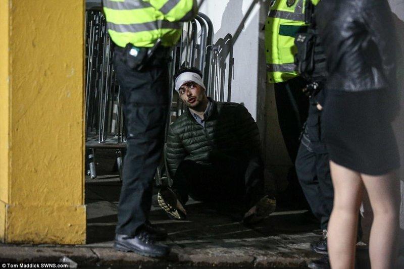 Шел, упал, очнулся - гипс. Ноттингэм великобритания, новый год, погуляли, тусовщики, фоторепортаж, хогманей, шотландия