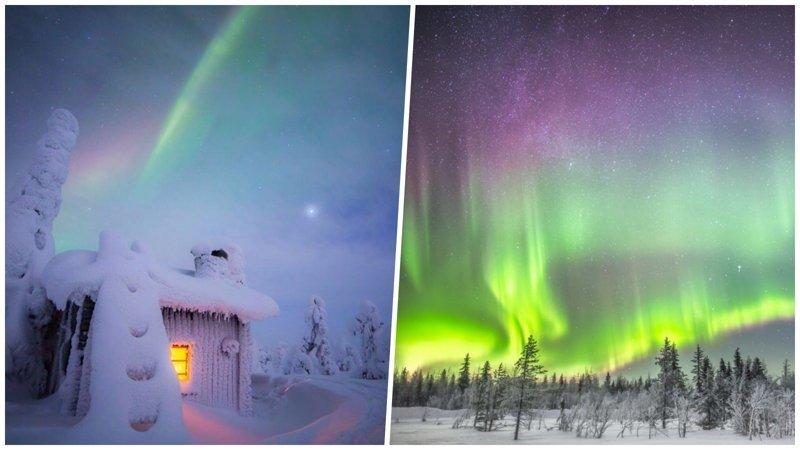 Потрясающие снимки северного сияния и звёздного неба над холодной Финляндией (26 фото)