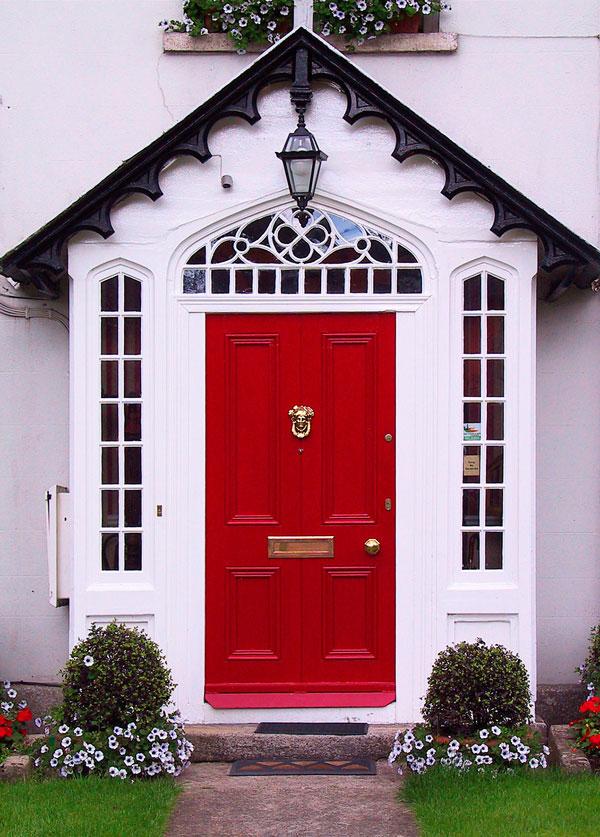 25 вдохновляющих идей для входной двери