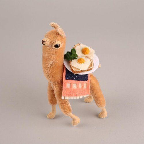 Войлочные игрушки от австрийской рукодельницы