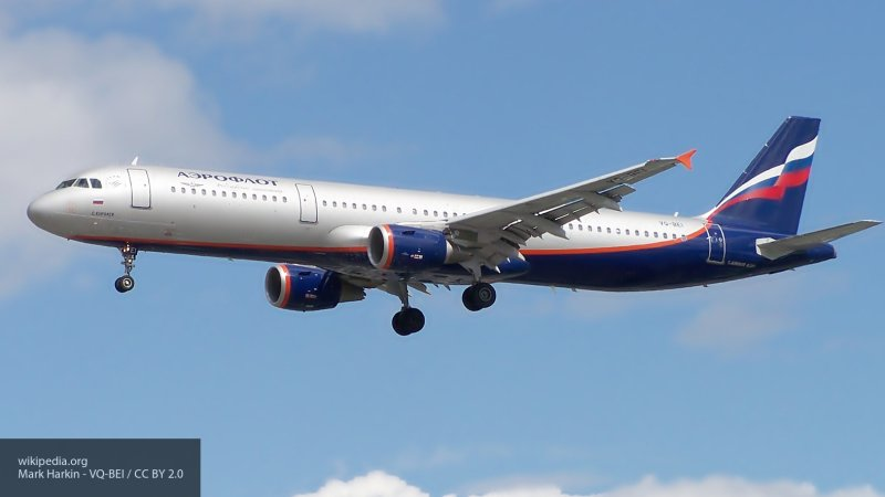Стала известна причина экстренной посадки Airbus A320 в Шереметьеве