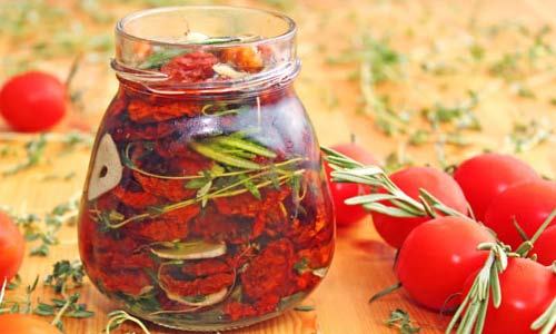 Заготовки на зиму.Очень вкусные вяленые томаты