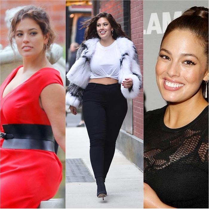 Базовый гардероб от Эшли Грэм для женщин с размерами plus size.