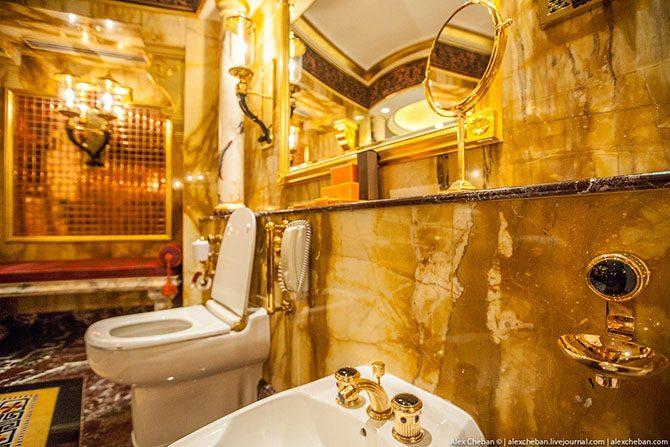 Богато и очень дорого: как выглядит номер в 7-звёздочном отеле Дубая Дубай,отели,роскошь