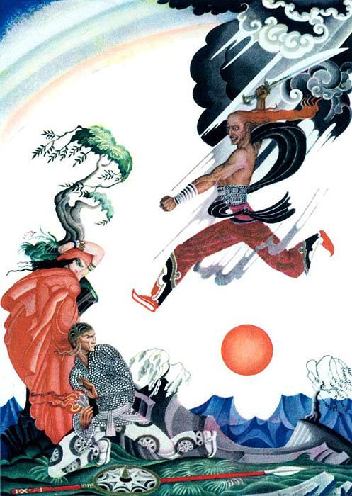 Кай Нильсен, иллюстрация к сборнику Уилсон