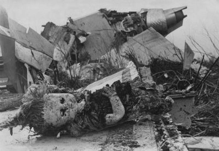 Фото с места гибели лайнера Tri-Star.