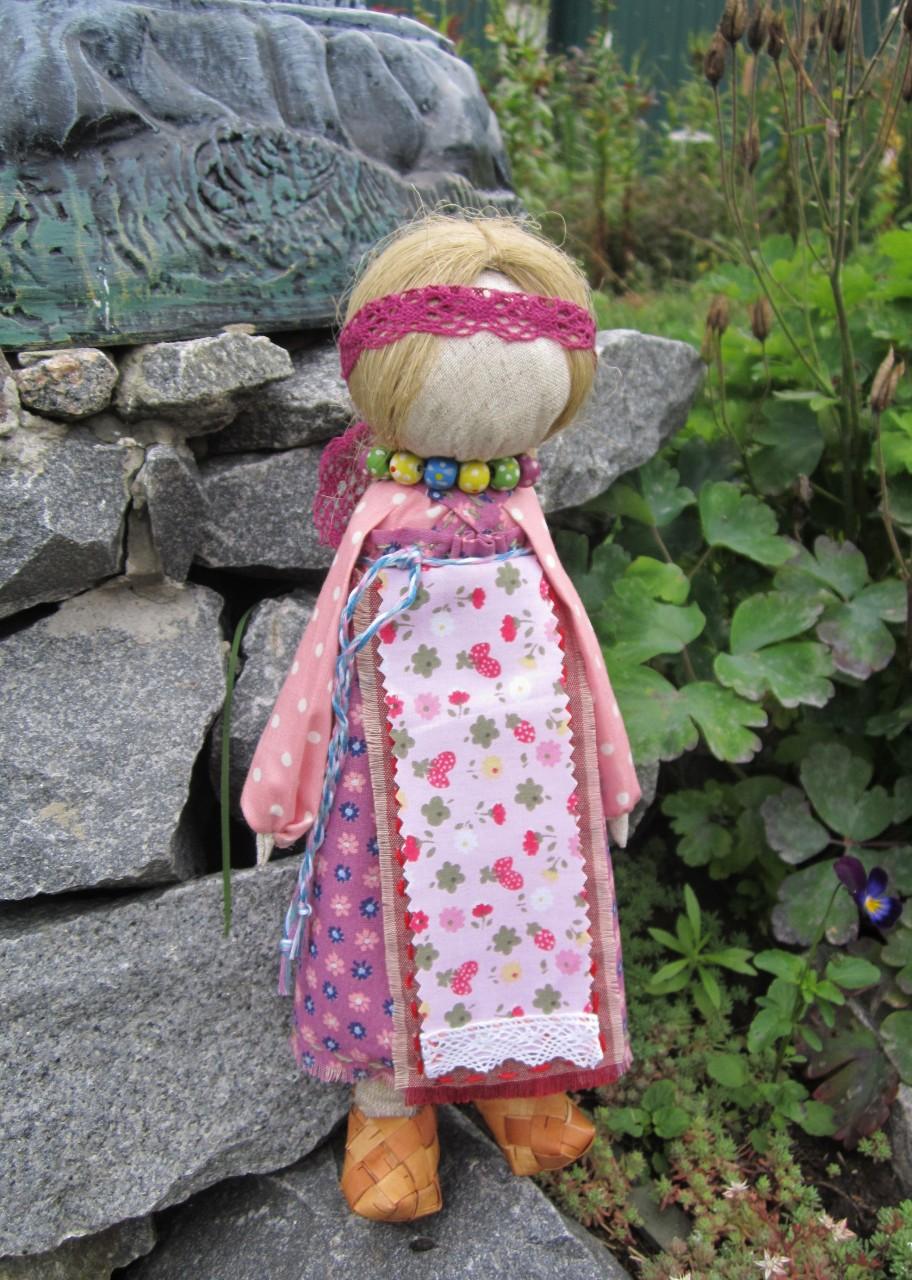 Куклы на Выхвалку: Молодуха(Молодайка) и Кукла с Косой.
