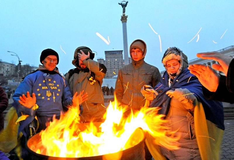 Украина на пороге настоящей …