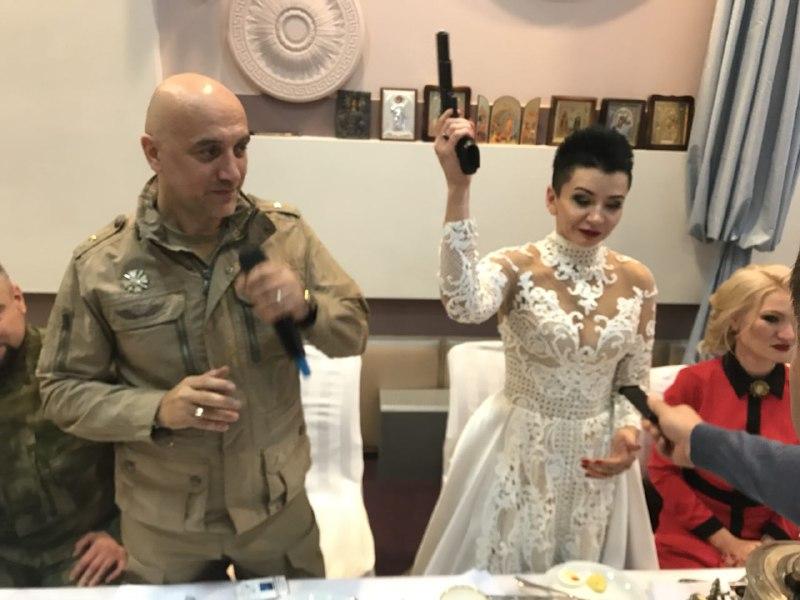 Прилепин обвенчался в Донецке