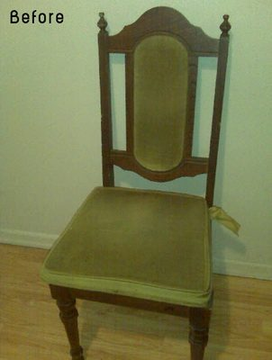 30 реальных примеров обновленных старых стульев