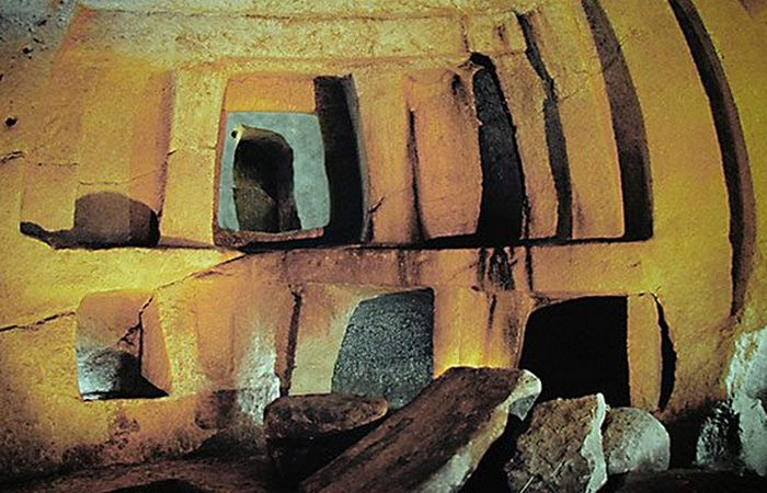 Невероятные туннели каменного века.