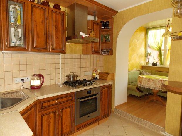Моя кухня: не современная, но очень уютная и душевная