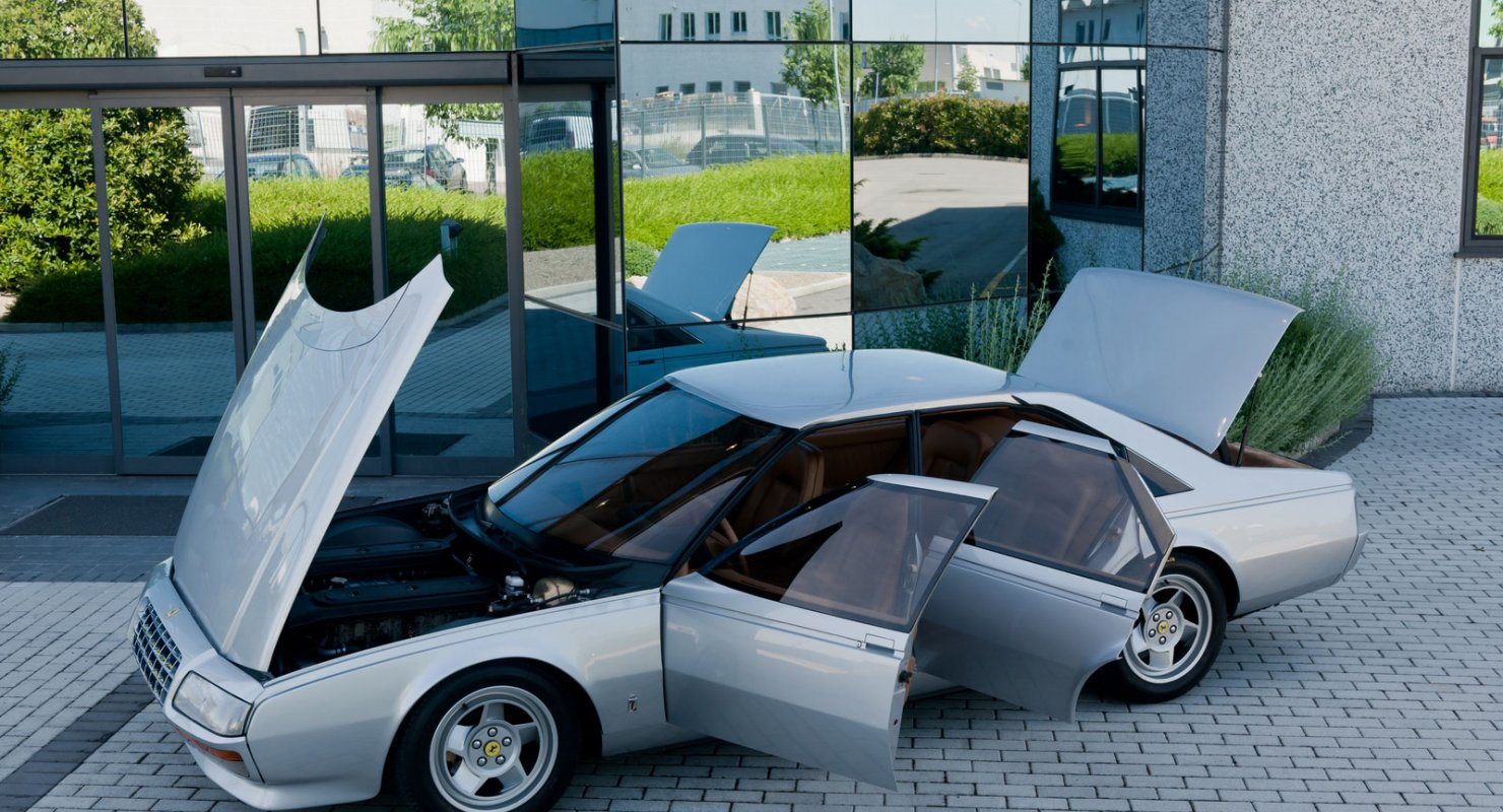Концепт-кар итальянского ателье Pininfarina: Ferrari Pinin Автомобили