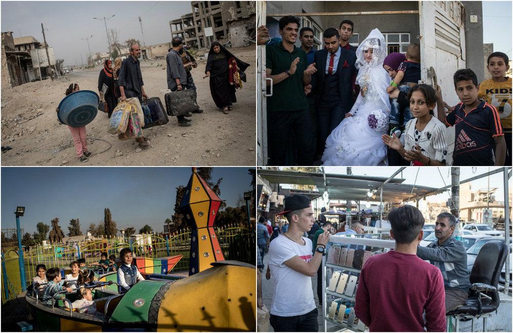 В города Ирака возвращается жизнь