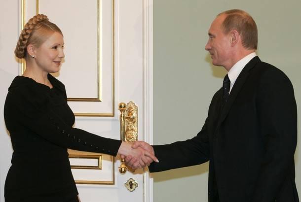 Тимошенко поздравила Путина с победой на президентских выборах в России