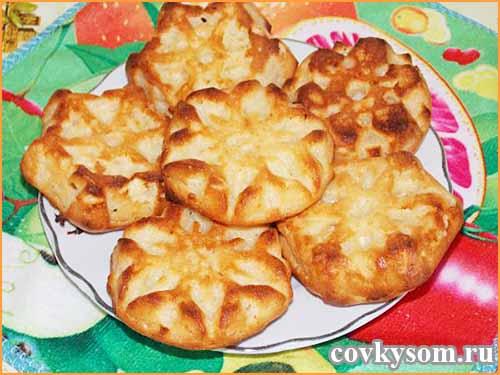 Творожные сырники, запеченные в духовке