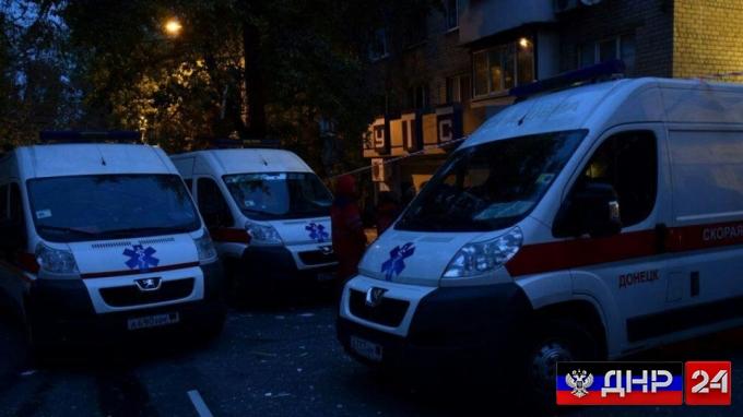 Количество пострадавших в Донецке возросло до 5 человек, среди них есть дети
