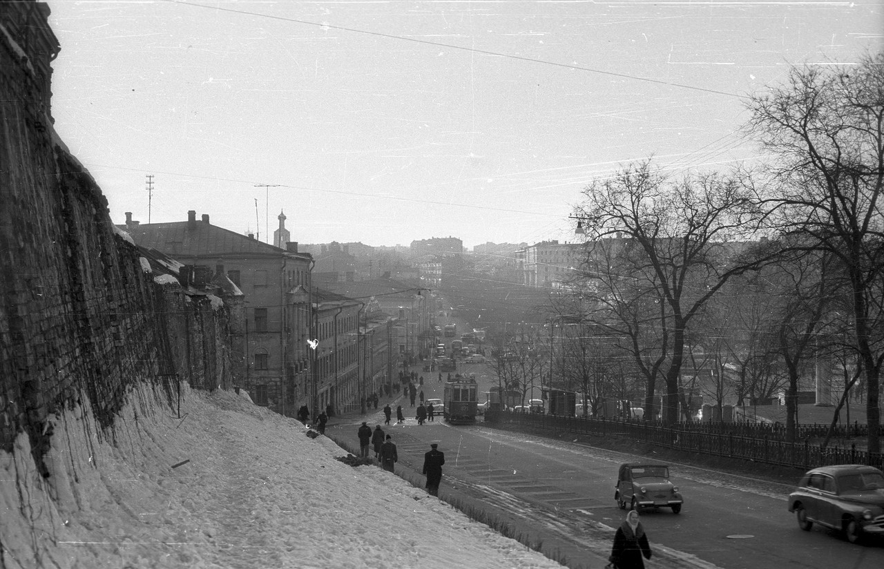 Москва 1950-60-х годов на старых фото