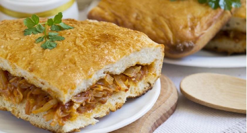 Пирог с капустой «Объедение»: съедается на раз-два