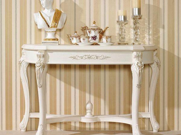 Консольный столик — многоликий красавец для дома и дачи,интерьер