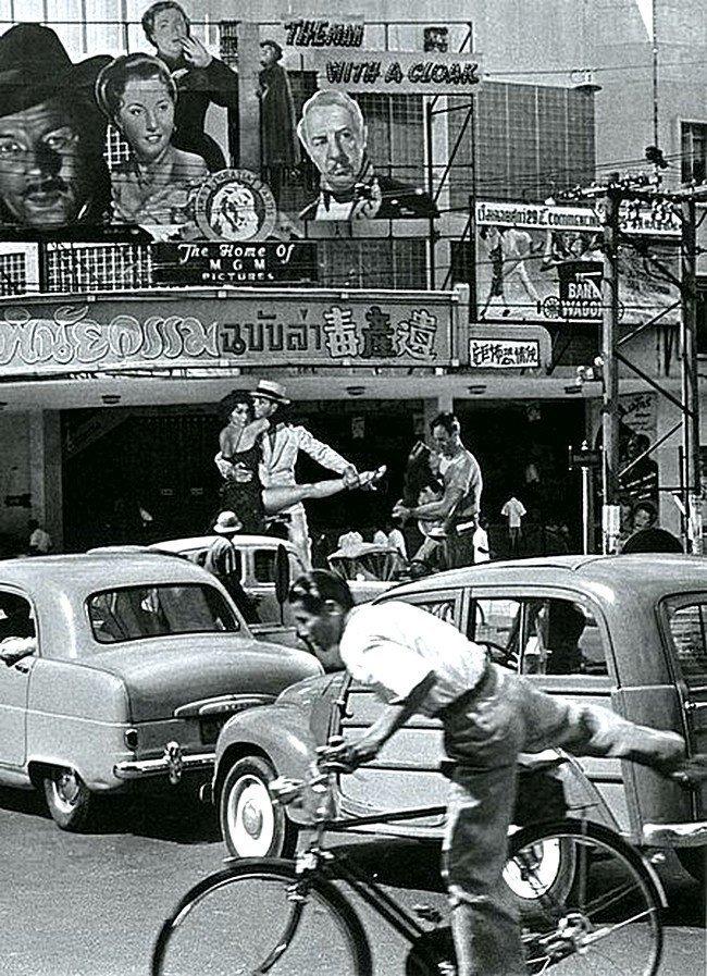Бангкок в 1955 году Весь Мир в объективе, ретро, старые фото