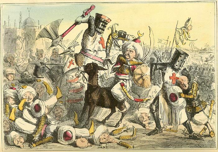 Крестовые походы глазами арабов