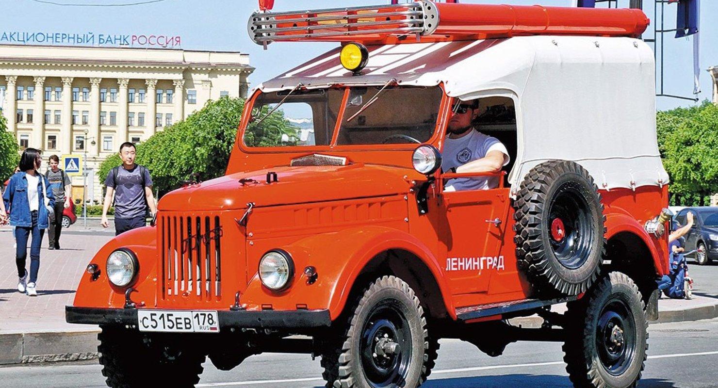 ПМГ-20 — советский пожарный автомобиль на базе ГАЗ-69 Автомобили