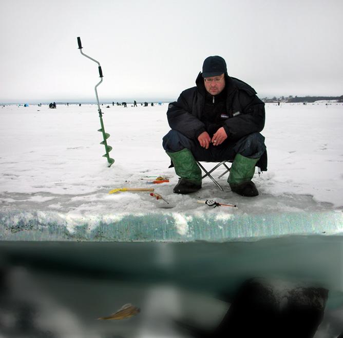Снег сошел, рыба стала осторожней