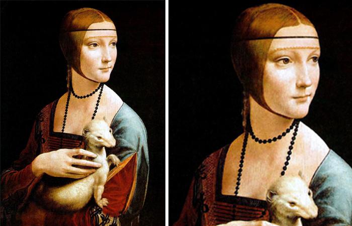Тайны картины Леонардо да Винчи «Дама с горностаем»